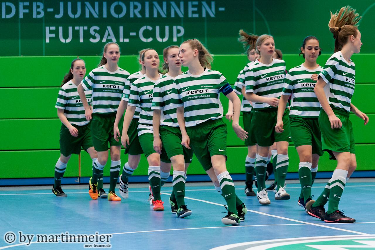 Leider nicht dabei - Neben dem Rekordsieger 1. FFC Turbine Potsdam fehlt auch die Deutsche U17 Futsalmeister SV Alberweiler in Ostwestfalen