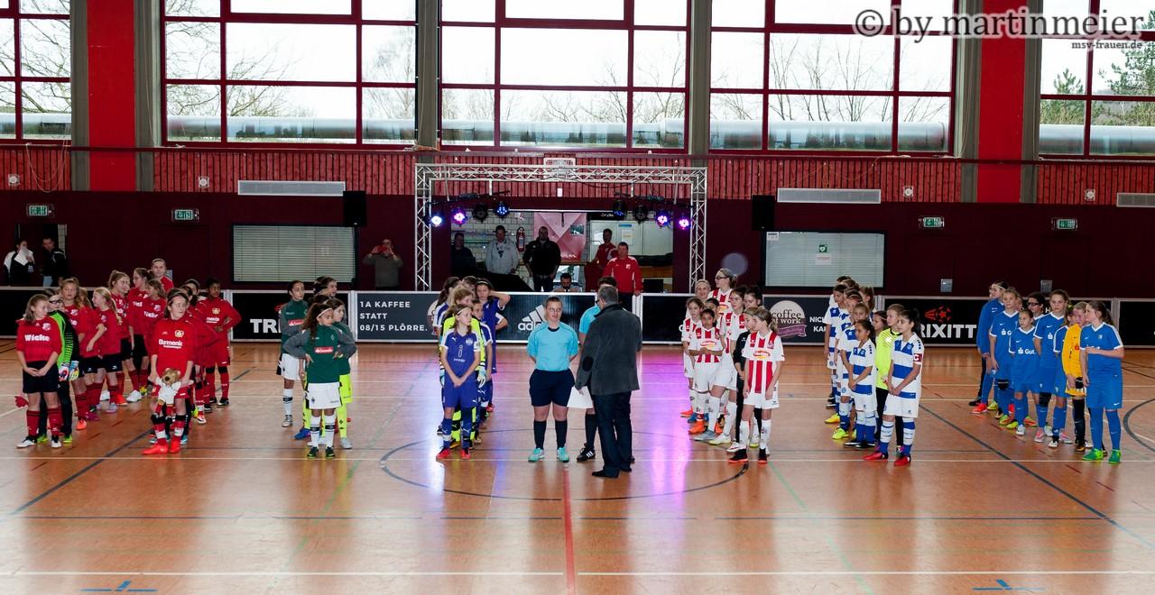 Bühne frei - Die westdeutschen U13 Topteams trafen sich am vergangenen Wochenende in Sprockhövel