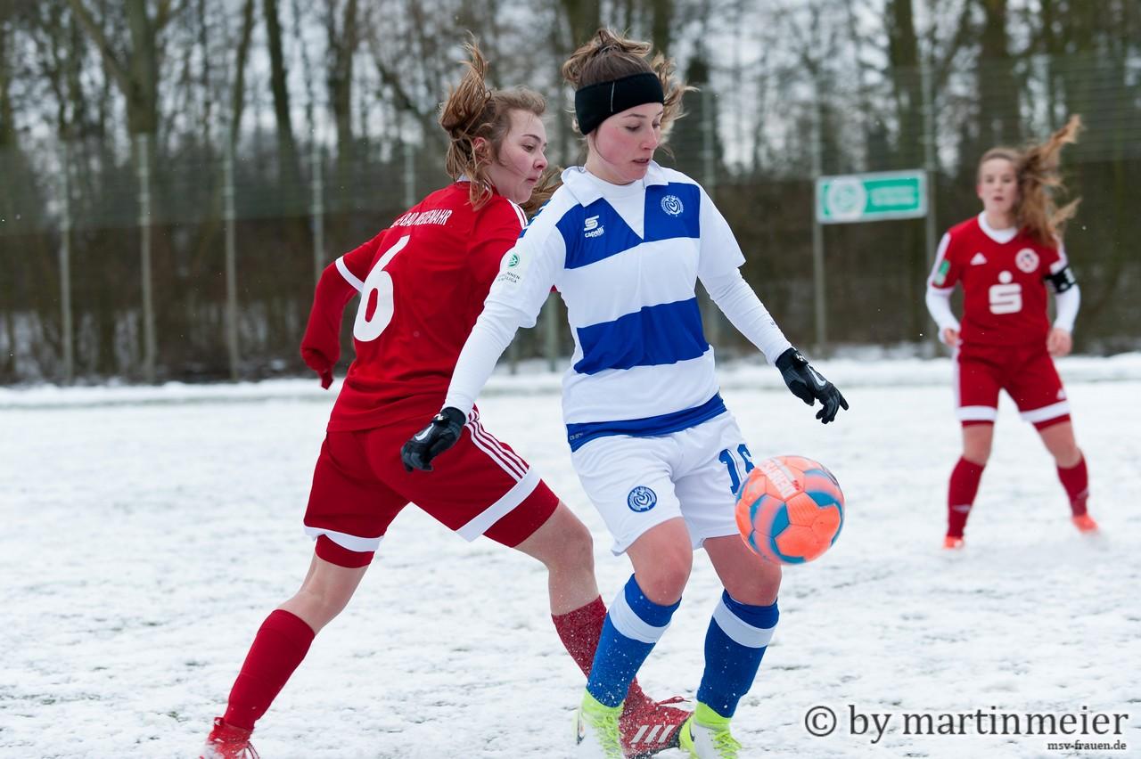 Geschichtsschreiberin - Melisa Esen (MSV) erzielte ihr erstes Bundesligator ihrer Karriere
