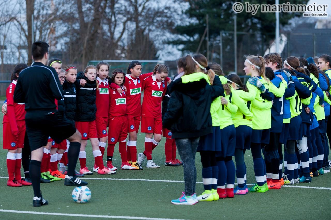 Rematch - der 1. FC Mönchengladbach und der MSV Duisburg standen sich nicht zum ersten Mal im FVN-Pokal gegenüber