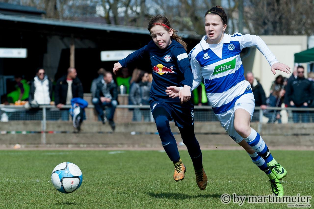 Starkes Duo - Ashley und Ella sammelten gegen die DJK TuSA Düsseldorf Scorerpunkte