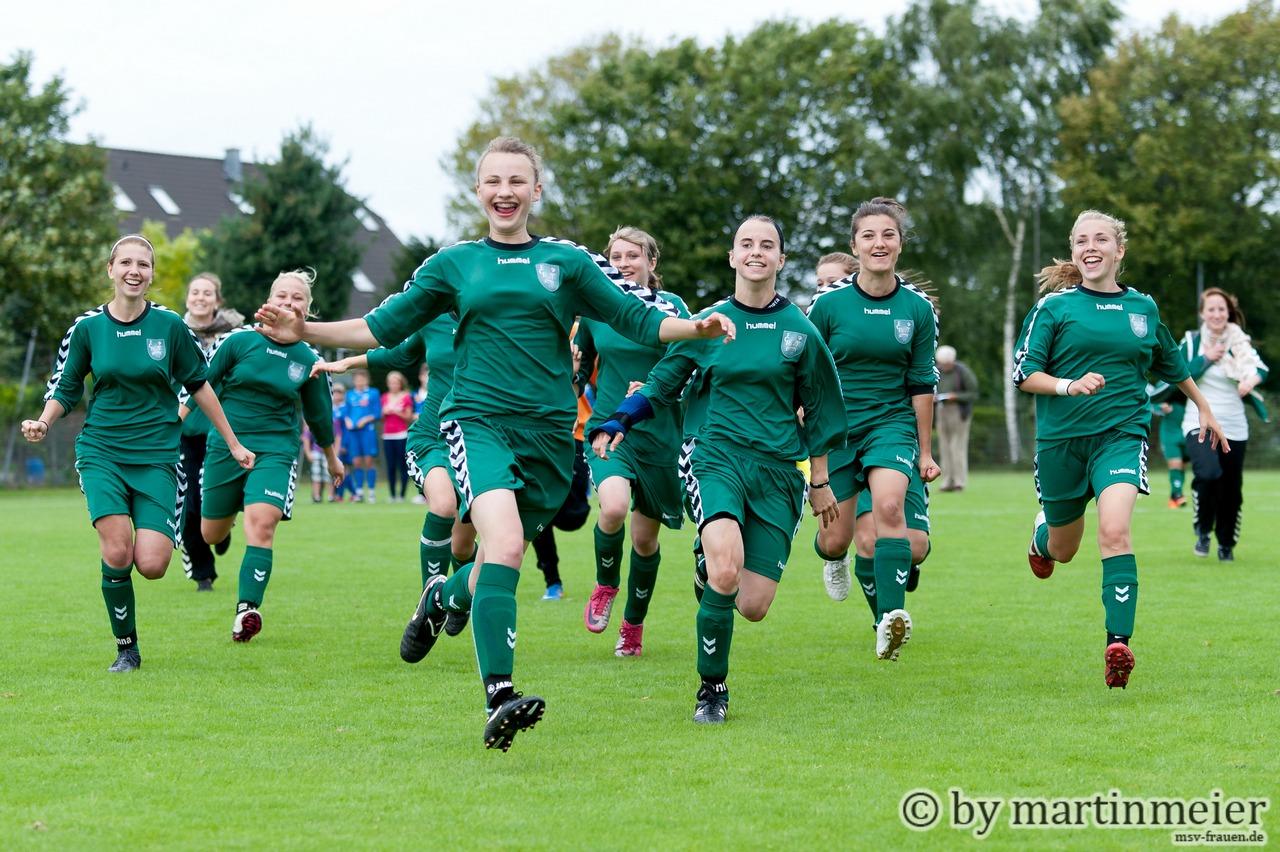 Glory days - Mit neuem Konzept wollen die Duisburger C-Juniorinnen mittelfristig an ruhmreiche U15 Zeiten des FCR 01 Jugend anknüpfen