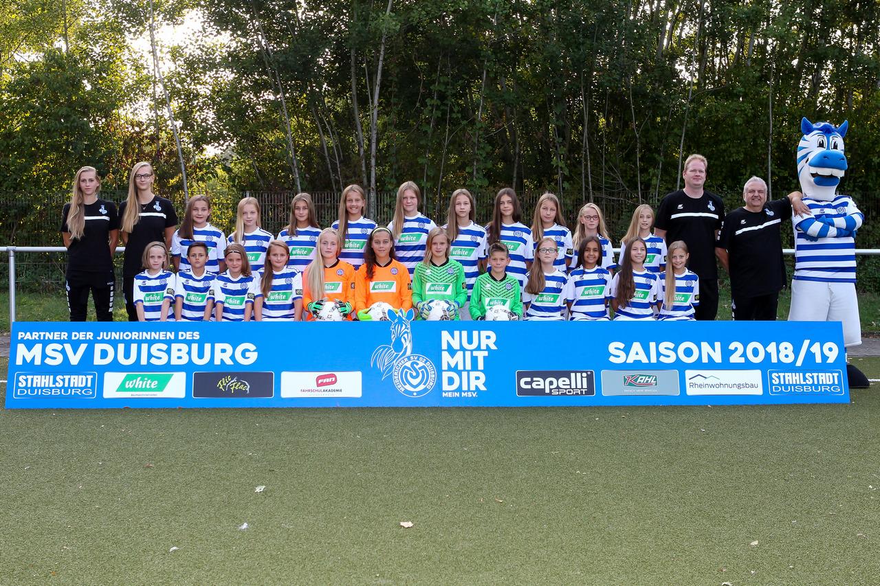 Auf ein Neues - Der neue Jahrgang der Mini-Zebras startet in die Saison 2018/19