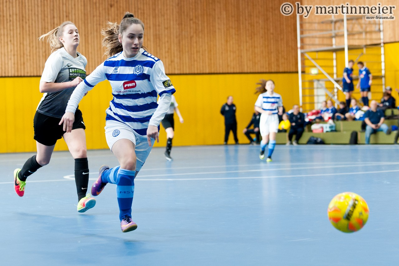 Doppelschlag - Melisa Esen(MSV) traf im ersten Spiel gleich doppelt