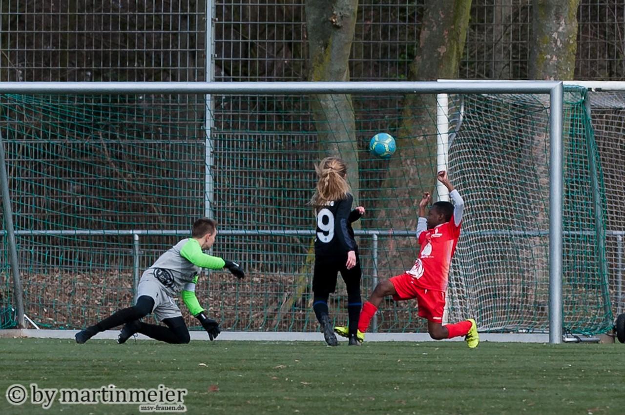 Torpremiere - Lena(MSV) erzielte ihren ersten Pflichtspieltreffer für die Zebras