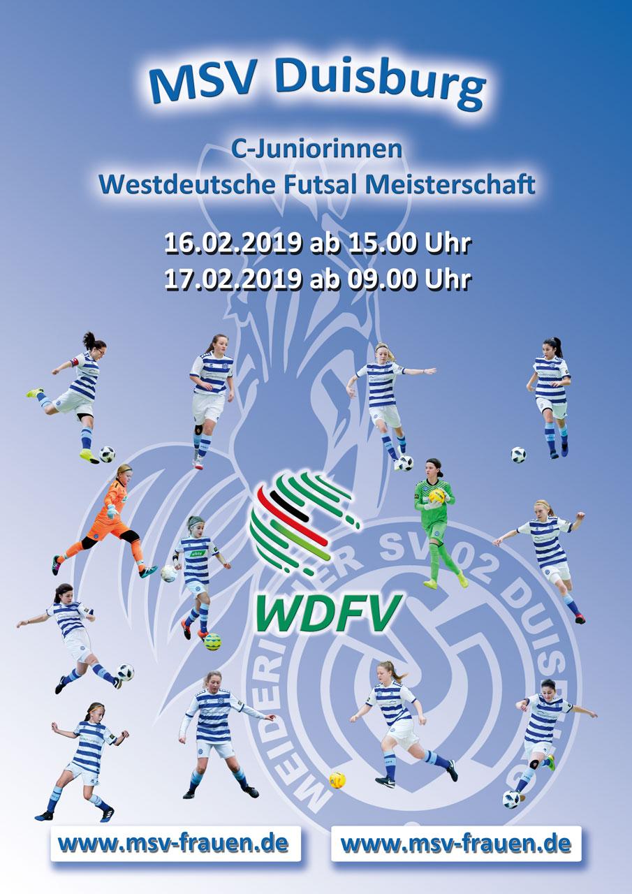 Indoor-Highlight - Die C-Mädels des MSV wollen in Wiesbaden eine gute Visitenkarte abgeben
