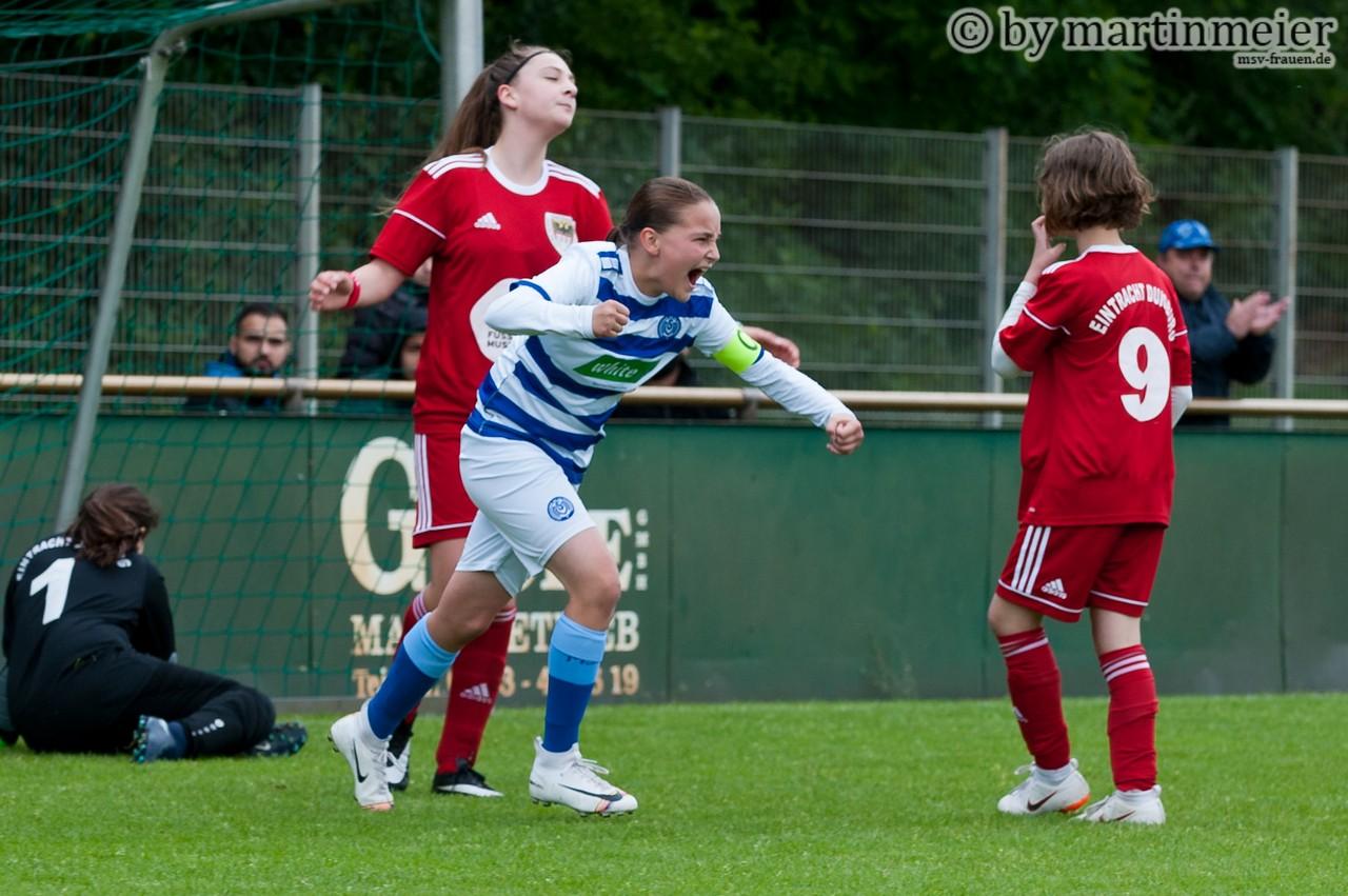 Starke Premiere - MSV-Keeperin Jette hatte bei ihrer Pflichtspielpremiere einen starken Auftritt