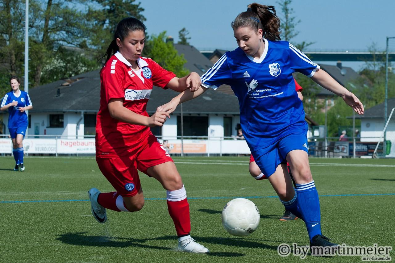 Spitzenspiel - Zum Auftakt der U17 Niederrheinliga treffen die Topteams aus Duisburg und Mintard aufeinander
