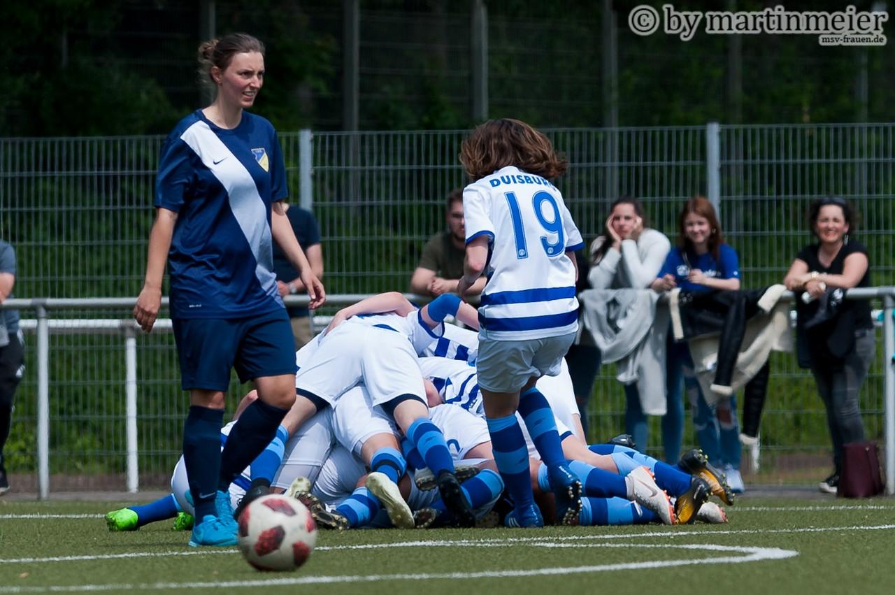 Zebras obenauf - In der kommenden Saison der Frauen-Niederrheinliga wollen die Duisburgerinnen im Duell mit dem 1. FC Mönchengladbach das bessere Ende haben