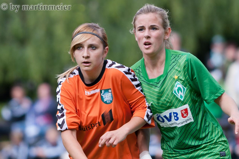 Urgestein - Rückkehrerin Nadine Spitalar feierte mit den B-Juniorinnen schon große Erfolge wie die Teilnahme an der Endrunde zur Deutschen Meisterschaft 2012 in Leipzig