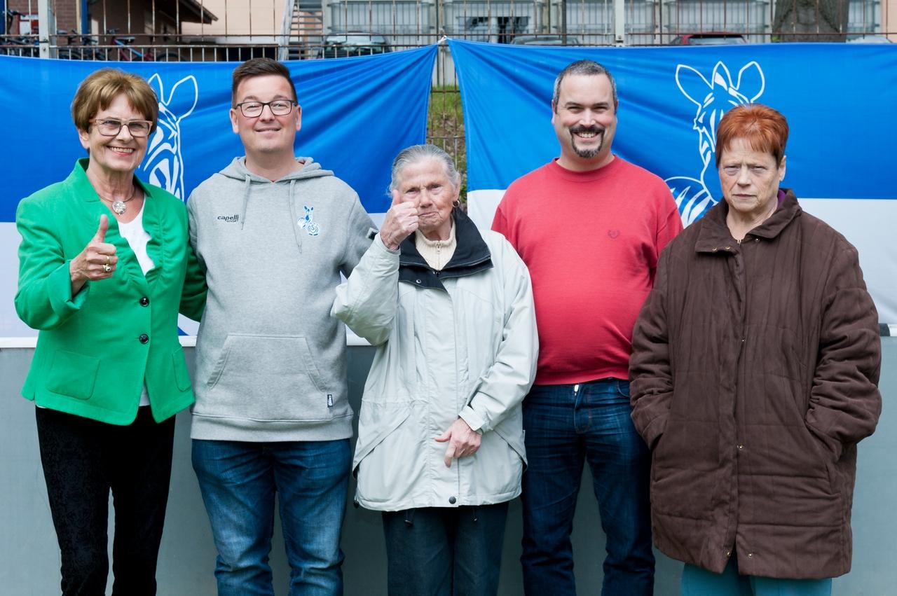 Immer in unermüdlichem Einsatz für Duisburger Fußballmädchen - Der Förderverein