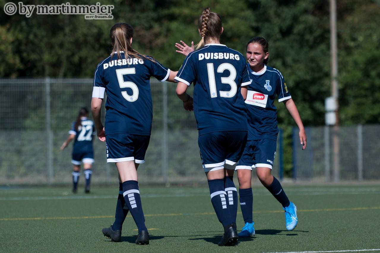 Die erste Bewährungsprobe der neuformierten U15 gab es am vergangenen Wochenende gegen Viktoria Buchholz