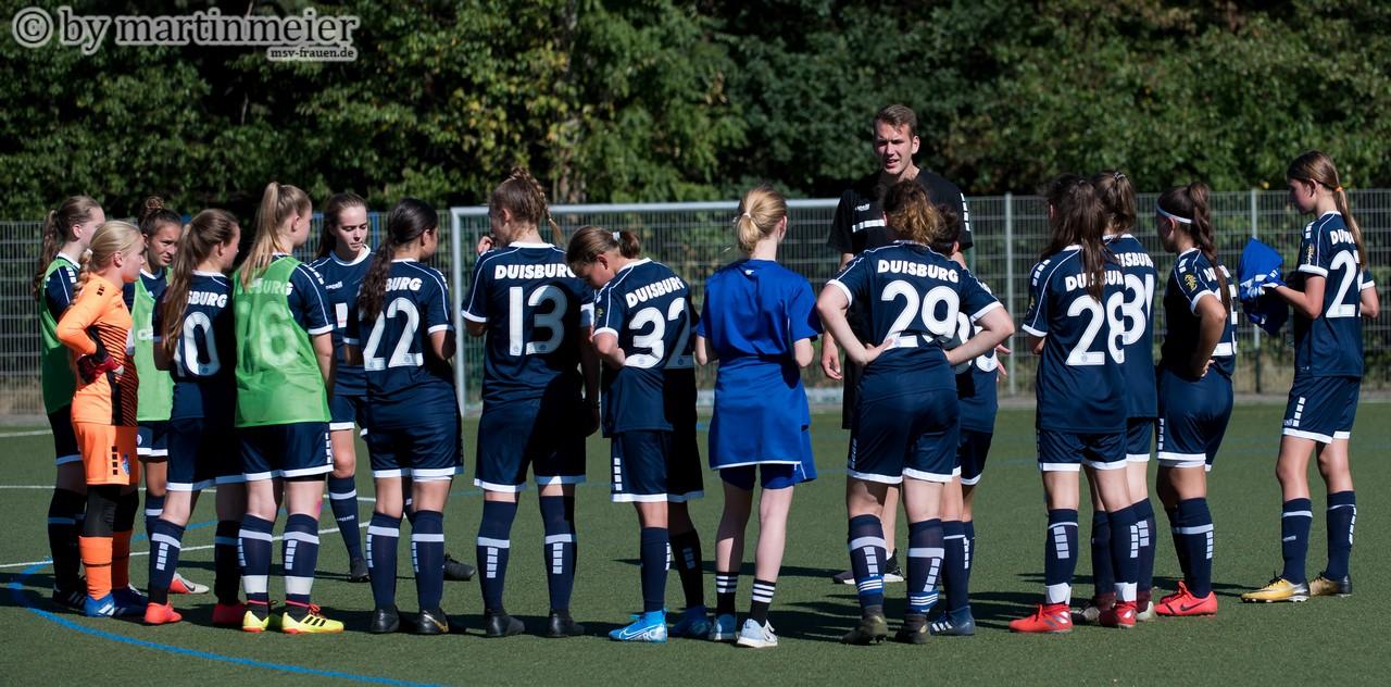 Der Anfang ist gemacht - Die Seeger Mädels der U16 starteten mit einem Sieg in die Saison