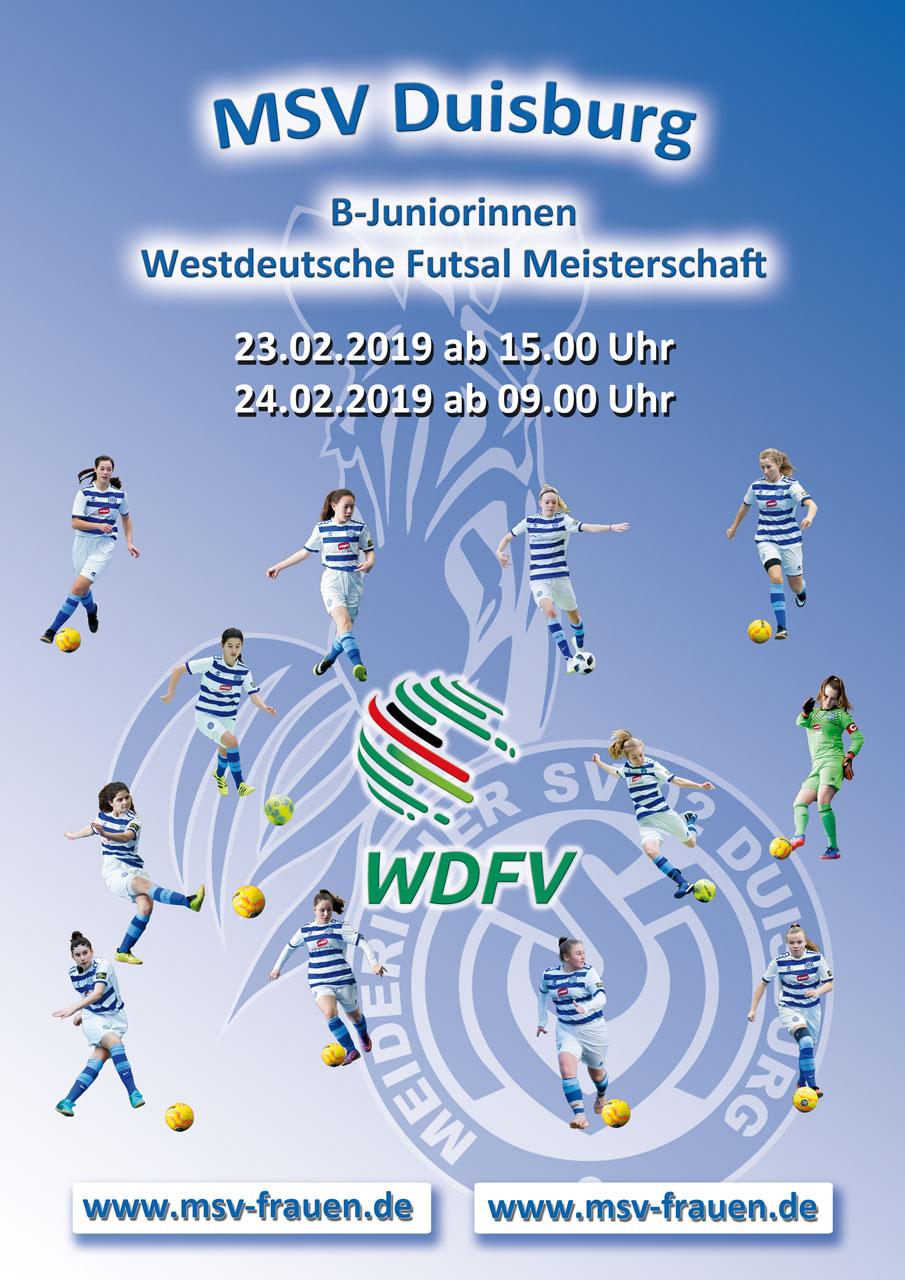 Indoor-Highlight - Die B-Mädels des MSV wollen in Köln eine gute Visitenkarte abgeben