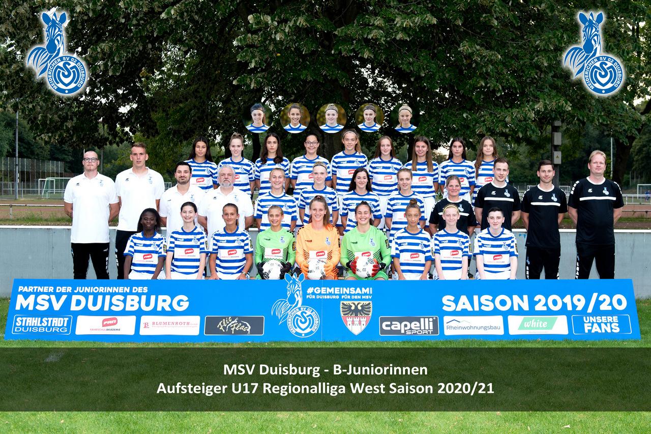 Es ist vollbracht - Die MSV U17 Mädchen steigen in die Regionalliga auf