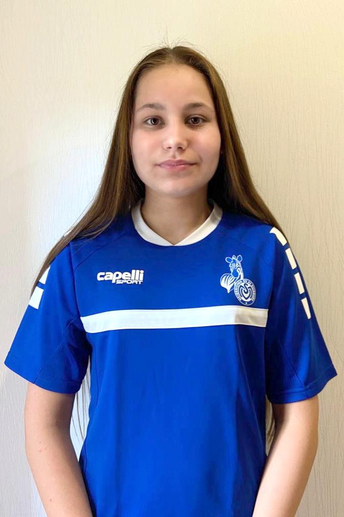 Starker Neuzugang - die polnische Juniorinnen-Nationalspielerin Naomi Januschewski hat bereits Regionalliga Erfahrung